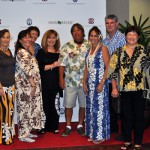 Mahalo to the 2015 Mahi'ai Match-Up Gala volunteers from the Class of 1975. Pictured with the Pauahi Foundation's Annual Giving Specialist, Kanoe Vierra (first on left), are Abbie (Kalehua) Hanohano, Stephanie Awa, Maile Howick, Karen (Kalena) Waiamau, Kila Wilson, Arlene Pratt, Michael Mederios, Kathy DeMello and Ed DeMello.