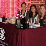 The Pauahi Foundation's Kanoe Vierra and Kellsie Sasaki with alumni volunteer Liana Rapoza KSKʻ09.