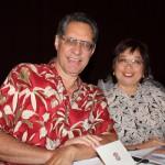 Martin and Jean Peʻa