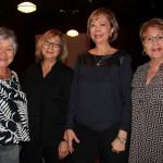 Class of 1961 was well represented by Y. Pee Wee Ryan, Sybil Nosaka, Caroleen Iseri and Arlene Kamoe.