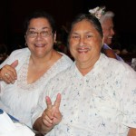 Charlene Kema KSKʻ64 and Merle Kalani KSKʻ64