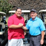 Mark Yamanaka & his father Melvin Yamanaka joined the Foundation for a fun day of golf.