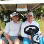 Nanea members, Doug & John Hoffee, ready for the tournament to begin.