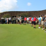 The 3rd Annual Pauahi Series at Nanea golfers and supporters.