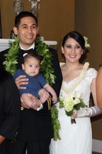 Michael Lancaster and Chahati Leslie KSKʻ06