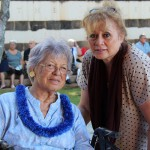 Gay Chan Lorch and daughter Lillian Colburn Akana KSK'72