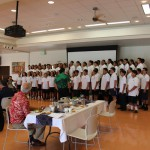Alumni donors enjoyed male from Kamehameha Schools Concert Glee
