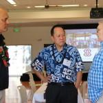 Pono Ma'a, Interim Executive Director, Jack Wong, Kamehameha Schools CEO, and