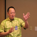 Kamehameha Schools CEO Jack Wong shared updates on Strategic Plan 2020 during the breakfast.