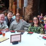 Alumni and ʻohana enjoying LIA: Alumni at Aulani.