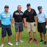 Spencer Wong KSK'90, Scott Nair, Pono Maa KSK'82, and Jim Russell