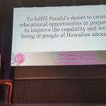 Ka Manaʻo Ke Akua focused on Pauahi's desire to create educational opportunities.