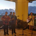 Maui Alumni Reuion Weekend Launa featured alumni of KSM under the direction of Kumu D. Kalei Aarona-Lorenzo KSK'85.  Musicians were Maleko Lorenzo KSMʻ13, Edward Juan KSMʻ15 and Gregory Juan KSMʻ12