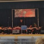 Haumana of Battle of Kuamoʻo performed at the 6th Annual KSAA East Hawaii Scholarship Lūʻau.