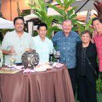 Scott Hayashi, Sanj Sappal, Richard Chang, Lee Donohue and Lucky Donohue and Jeff Mau.