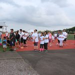 Participants of the inaugural Pauahi Color Run