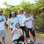 KSK 2001 enjoying the morning together at KSH Pauahi Color Run