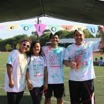 Low ʻohana completed the color run