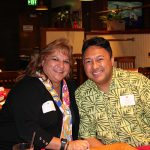 Enjoying the evening were Denise Kaaa KSK'84, Alumni Relations Coordinator, and Monte McComber KSK'94.