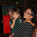 Nalani Blane Kealaiki KSK'94 enjoying family time with her son.