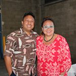 Our awesome emcees, Monte McComber (KSK '94) and Mele Apana (KSK '92).