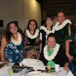Too much fun had by the ladies wearing the gorgeous ginger leis.