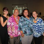 "4 Naipo cousins and siblings and all song contest directors.  Stacy Naipo, KSK '82, Delmann Naipo, KSK '86, Lina Langi, KSK '90, and Elzadia ""Elzy"" Kaina, KSK '84."