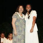 Dr. Paulin Frederick Scholarship-Presenter Debbie Lindsey, Recipient Sydney Story