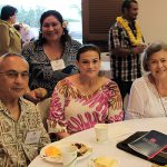 Art Loebl KSK'57, Bran-Dee Torres, Pauahi Foundation's Donor Relations & Development Manager, Lorna Loebl and Rhoda Loebl.