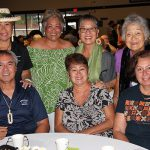 50th Reunion class enjoying the Poʻo Kula Reception